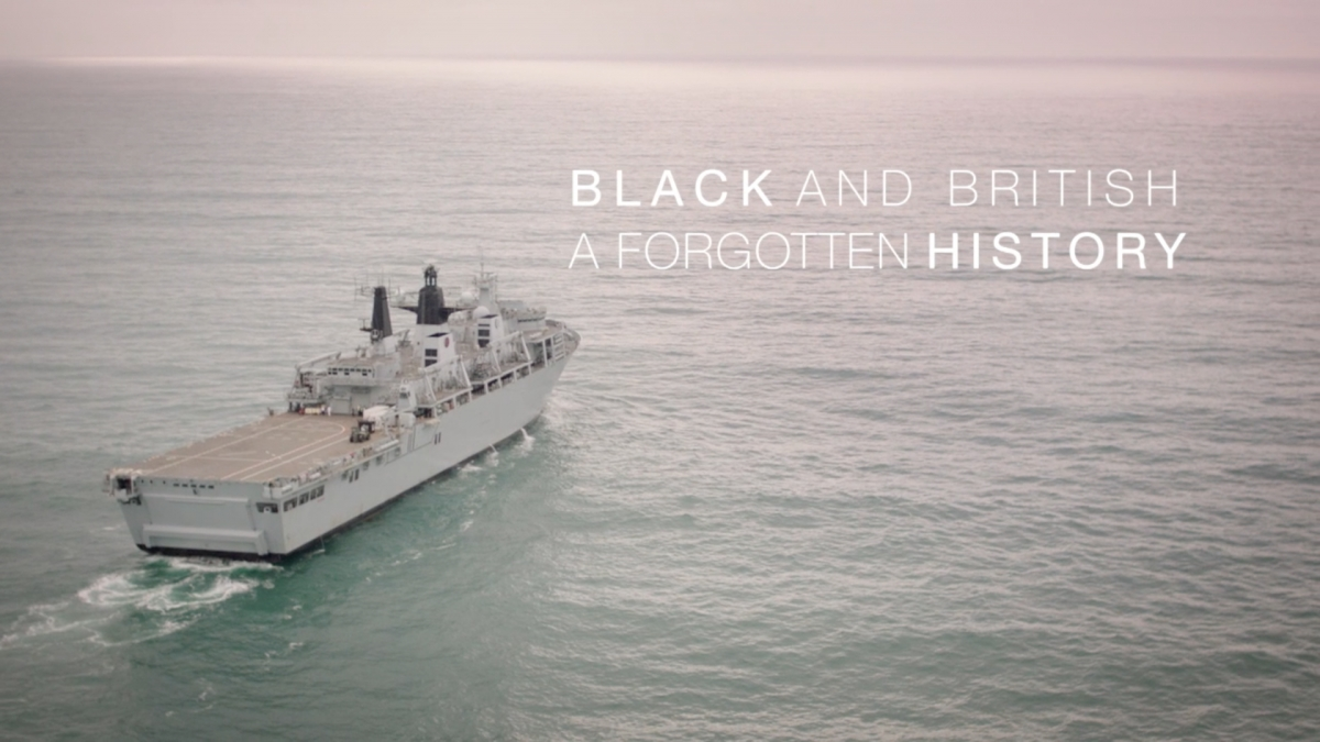 Segun scores BBC's 'Black and British: A Forgotten History'